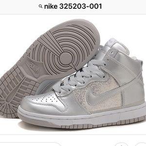 Nike Silver High Tops